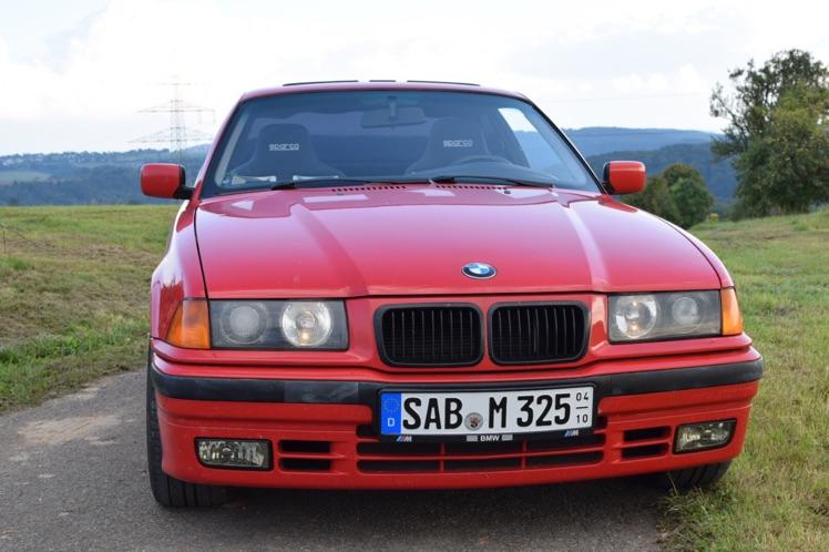 E36 325 Coupé hellrot Projektübernahme - 3er BMW - E36
