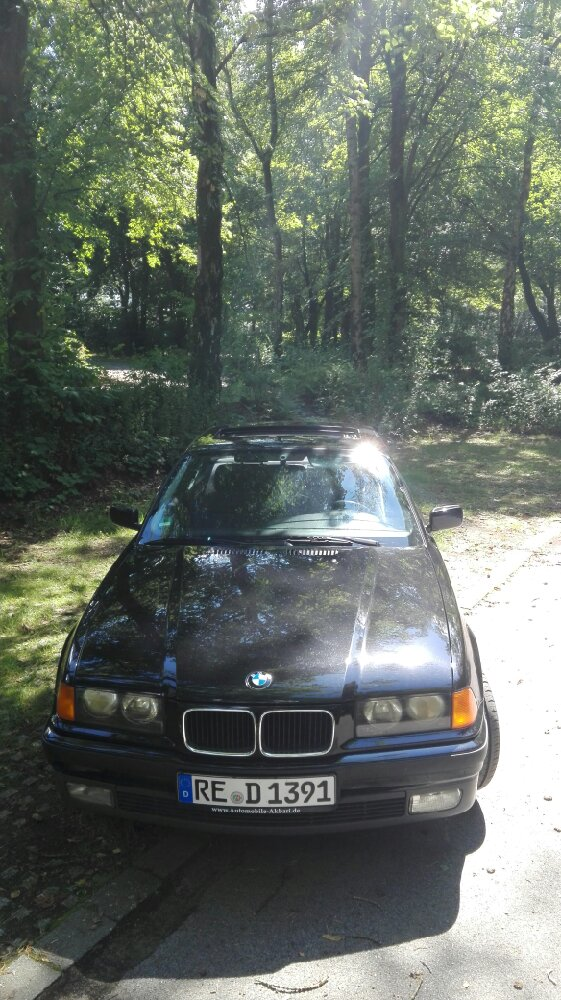 Bmw Schwarz 2=Black Pearl - 3er BMW - E36