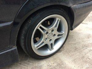 Breyton Softline Felge in 8x17 ET 38 mit Falken ZE912 Reifen in 205/45/17 montiert hinten Hier auf einem 3er BMW E36 325i (Limousine) Details zum Fahrzeug / Besitzer