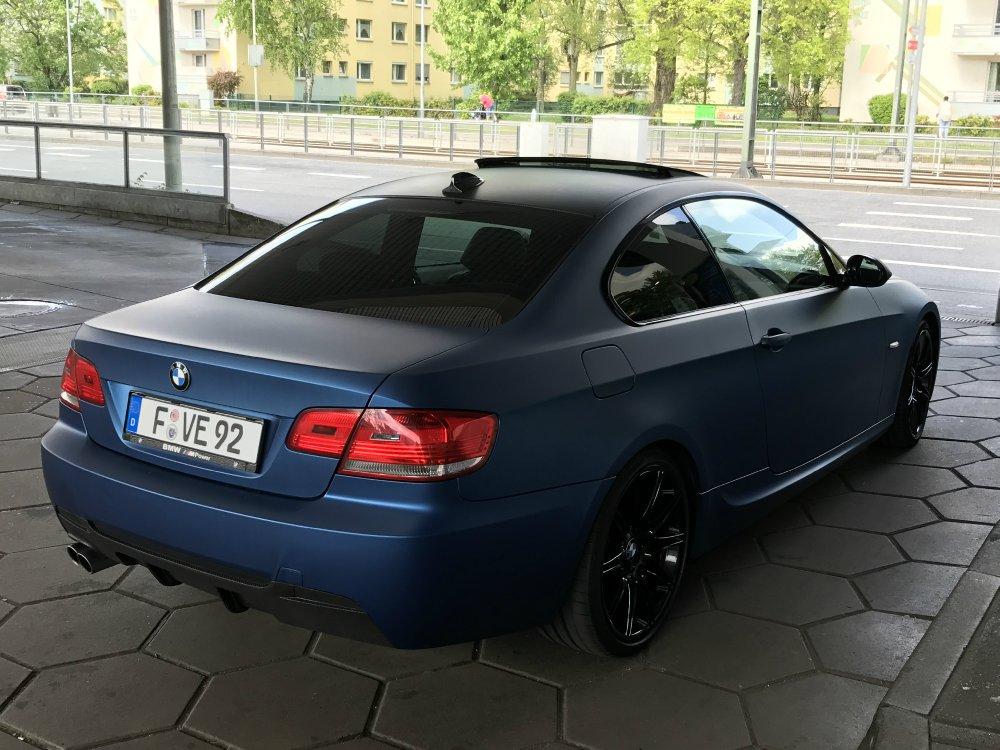 Mein e92 Blau Matt Metallic - 3er BMW - E90 / E91 / E92 / E93