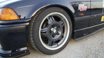 BMW M Performance Styling Nr. 24M Felge in 7.5x17 ET 41 mit Hankook Hankook Ventus V12 evo2 Reifen in 225/45/17 montiert vorn Hier auf einem 3er BMW E36 318is (Coupe) Details zum Fahrzeug / Besitzer