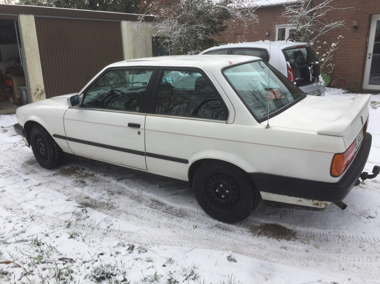 E30, 316i - 3er BMW - E30