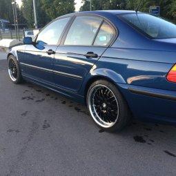 Dotz Mugelo Felge in 9x18 ET 38 mit Nexen  Reifen in 225/40/18 montiert hinten Hier auf einem 3er BMW E46 320td (Limousine) Details zum Fahrzeug / Besitzer
