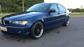 Dotz Mugelo Felge in 8x18 ET 38 mit Nexen  Reifen in 225/40/18 montiert vorn Hier auf einem 3er BMW E46 320td (Limousine) Details zum Fahrzeug / Besitzer