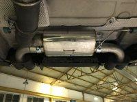 Friedrich Motorsport 4-Rohr Endschalldämpfer 2x2 80mm Endtopf