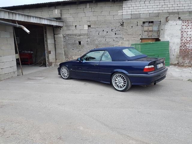 E36, 320i Cabrio - 3er BMW - E36
