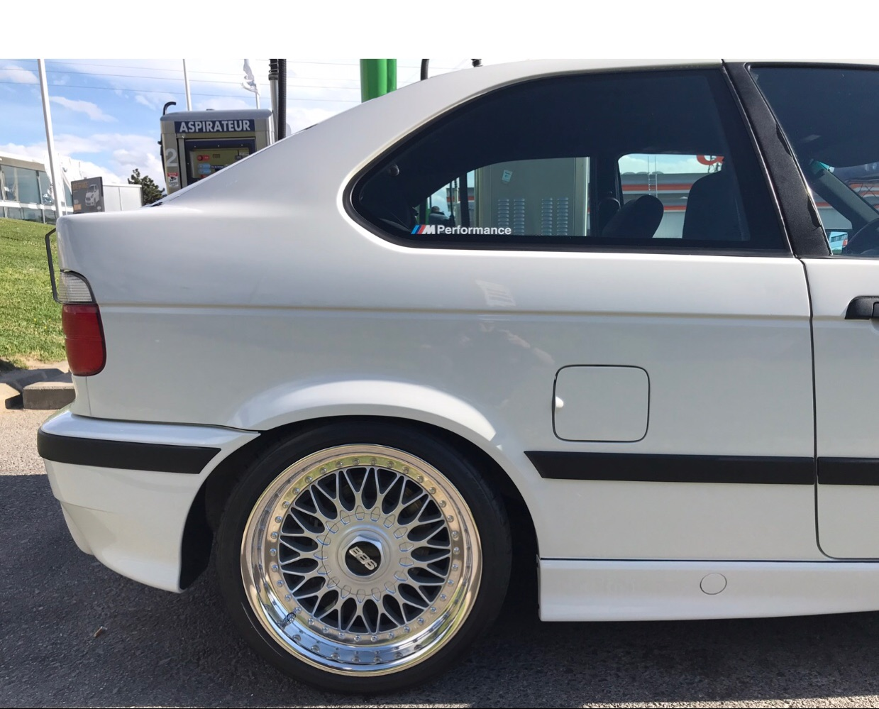 323ti Compact Alpin Weiss von Schweiz - 3er BMW - E36