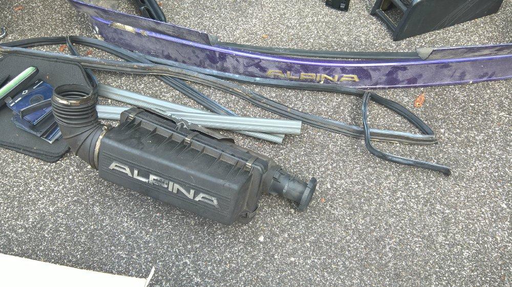 Alpina B10 3,5l im Dornröschenschlaf - 5er BMW - E34
