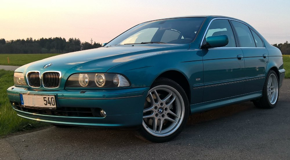 540i Atlantis Metallic - 5er BMW - E39