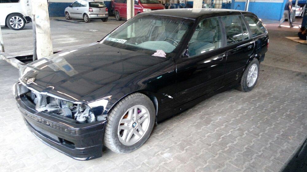 300€ Touring wiederbelebt in Jerezschwarz - 3er BMW - E36