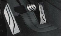 BMW M Performance Pedale / Fußstützen Edelstahl; 3 Teile