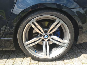 BMW M167 Felge in 9.5x19 ET 17 mit Goodyear Eagle Reifen in 275/30/19 montiert hinten Hier auf einem 5er BMW E60 530i (Limousine) Details zum Fahrzeug / Besitzer