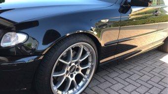 BBS RK II Felge in 8.5x18 ET 22 mit Falken Ziex 914 Reifen in 215/40/18 montiert vorn Hier auf einem 3er BMW E46 320i (Touring) Details zum Fahrzeug / Besitzer