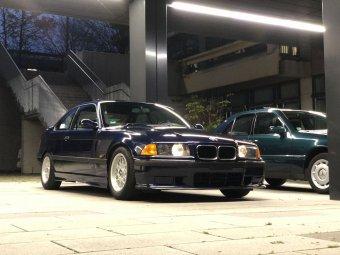 BMW Styling 29 Felge in 7x15 ET 20 mit Uniroyal  Reifen in 185/65/15 montiert vorn Hier auf einem 3er BMW E36 320i (Coupe) Details zum Fahrzeug / Besitzer