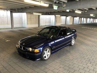 Azev A Felge in 7.5x17 ET 30 mit Hankook V12 Evo 2 Reifen in 225/45/17 montiert vorn Hier auf einem 3er BMW E36 320i (Coupe) Details zum Fahrzeug / Besitzer