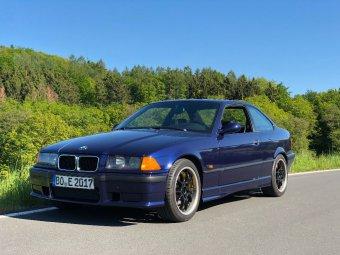 BBS RK 500 Felge in 8x17 ET 38 mit Hankook V12 Evo 2 Reifen in 225/45/17 montiert vorn Hier auf einem 3er BMW E36 320i (Coupe) Details zum Fahrzeug / Besitzer