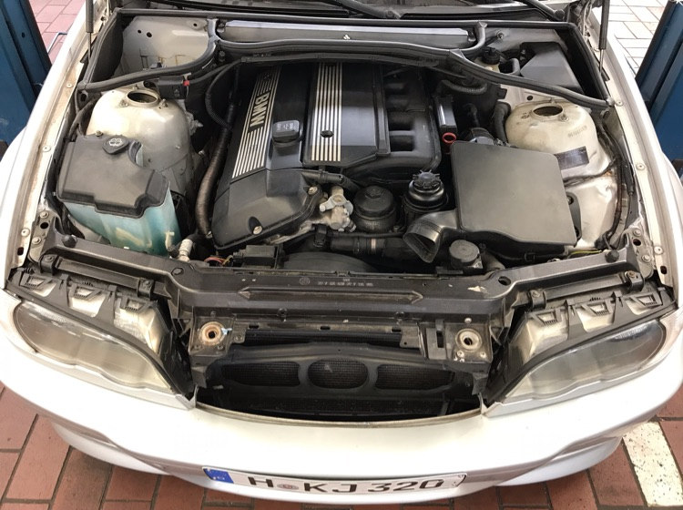 320 Cabrio in Titansilber - 3er BMW - E46