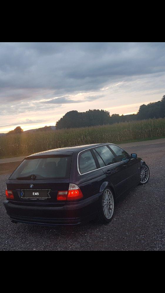 E46 Touring Orientblau - 3er BMW - E46