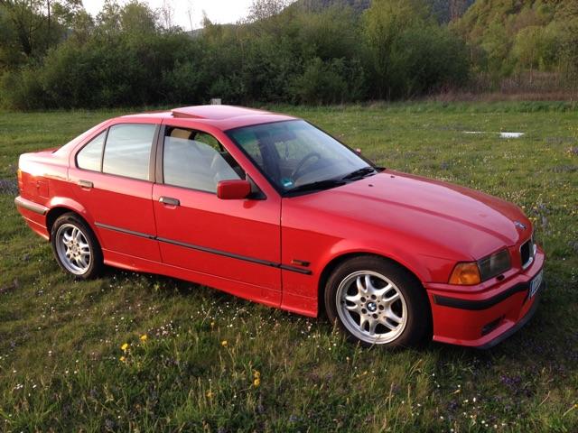 Update 06.2018 - E36 325i US Hellrot - 3er BMW - E36