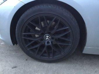 AEZ Antigua Felge in 8x18 ET 30 mit Hankook EVO S1 Reifen in 225/45/18 montiert vorn Hier auf einem 3er BMW F31 318d (Touring) Details zum Fahrzeug / Besitzer