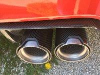 BMW M Performance 4-Rohr Endschalldämpfer M Performance