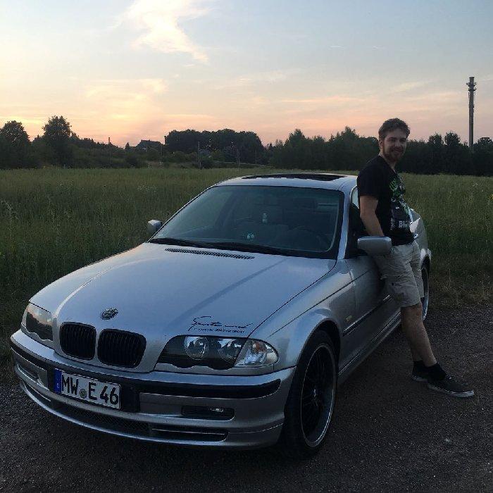 Silver - - BMW E46 325i - 3er BMW - E46