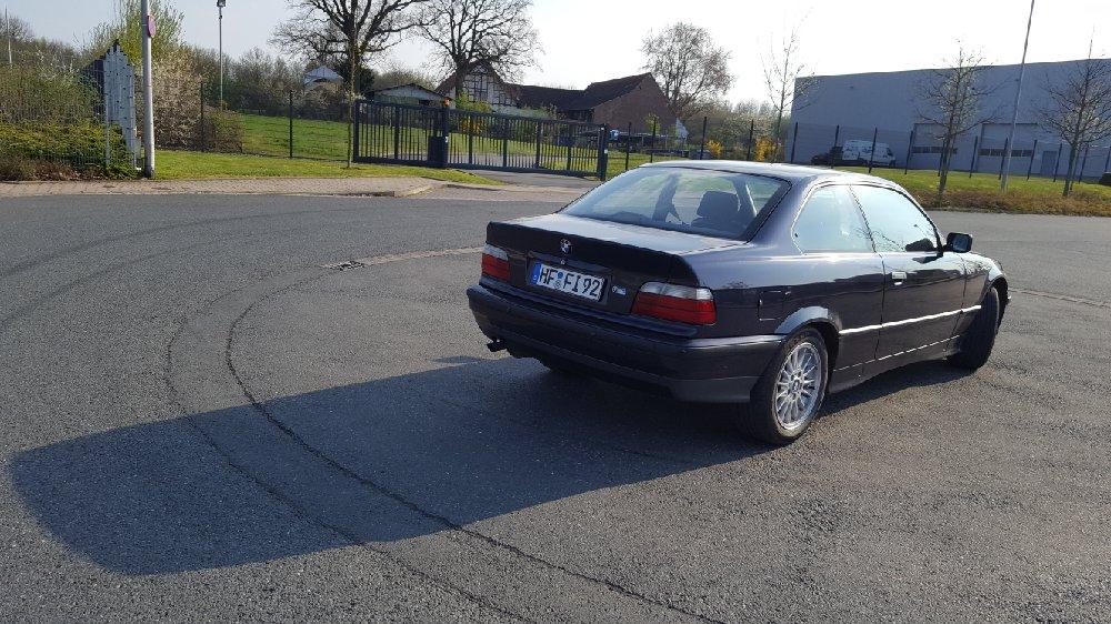 E36, 316i Coupe - 3er BMW - E36