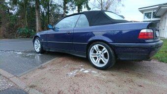 BMW Styling 112 Felge in 8x17 ET 46 mit Hankook Kinergy 4S Reifen in 225/45/17 montiert hinten Hier auf einem 3er BMW E36 318i (Cabrio) Details zum Fahrzeug / Besitzer