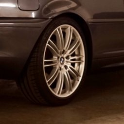 RH Felgen  Felge in 8x18 ET  mit Michelin  Reifen in 225/40/18 montiert vorn Hier auf einem 3er BMW E46 320i (Coupe) Details zum Fahrzeug / Besitzer