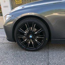 BMW M Performance M Doppelspeiche 624 Felge in 8x20 ET 36 mit Falken  Reifen in 225/35/20 montiert vorn Hier auf einem 3er BMW F31 320d (Touring) Details zum Fahrzeug / Besitzer