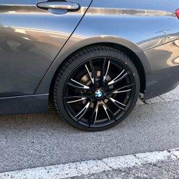 BMW M Performance M Doppelspeiche 624 Felge in 8.5x20 ET 47 mit Falken  Reifen in 255/30/20 montiert hinten Hier auf einem 3er BMW F31 320d (Touring) Details zum Fahrzeug / Besitzer