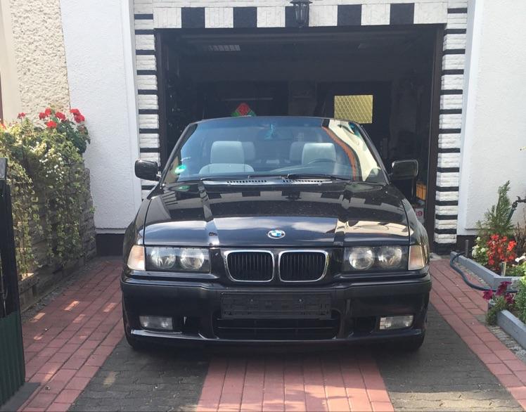 E36, 328iA Cabrio - 3er BMW - E36