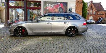 Oxigin  Felge in 9x20 ET 18 mit Nankang  Reifen in 245/30/20 montiert vorn Hier auf einem 5er BMW E61 535d (Touring) Details zum Fahrzeug / Besitzer