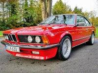 BMW 635 CSI Alpina B9 Motor