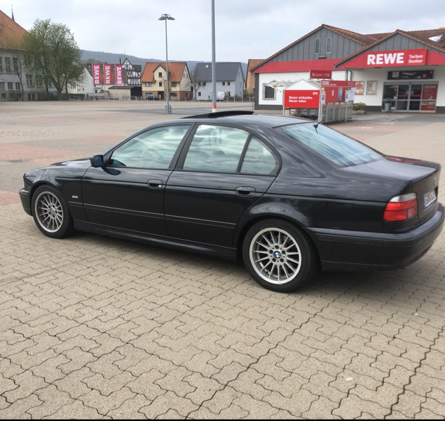 E39, 523i Limousine - 5er BMW - E39