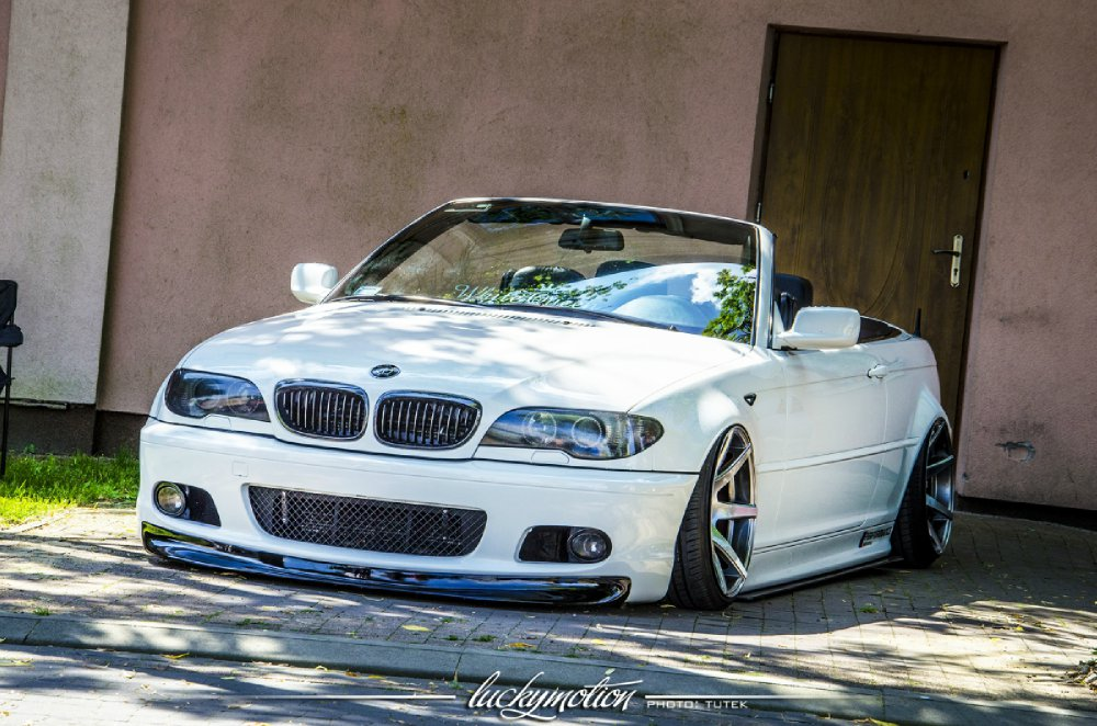 BMW E46 Cabrio White Queen - 3er BMW - E46