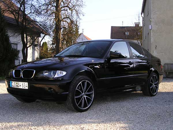 black bunny e46 318i 3er bmw e46 limousine. Black Bedroom Furniture Sets. Home Design Ideas