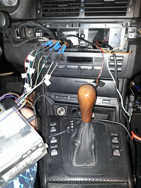 Radio und Verstärker E46 Re-Import - sonstige Fotos