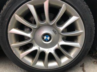 BMW m152 Felge in 8x18 ET 43 mit Nexen  Reifen in 245/40/18 montiert hinten mit 25 mm Spurplatten Hier auf einem 5er BMW E61 530d (Touring) Details zum Fahrzeug / Besitzer