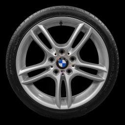 BMW M Performance Style 313M Felge in 8.5x18 ET  mit Bridgestone Potenza RE0504 RSC Reifen in 245/35/18 montiert hinten Hier auf einem 1er BMW E88 118i (Cabrio) Details zum Fahrzeug / Besitzer