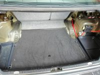 - Eigenbau - Verkleidungsteile Kofferraum leer