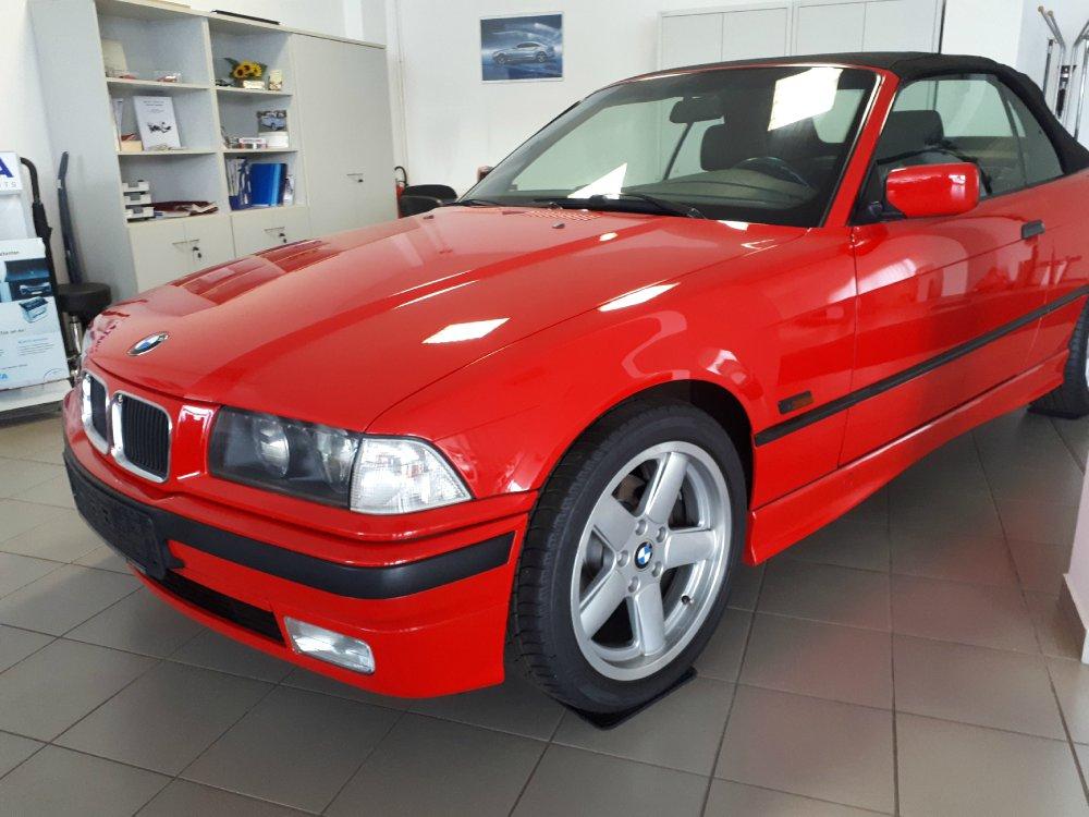 BMW 318i, Mein Traum in Rot - 3er BMW - E36