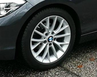 BMW Y Speiche 380 Felge in 7x17 ET 40 mit Continental Continental WinterContact TS 830 P* RSC SSR Reifen in 205/50/17 montiert vorn Hier auf einem 1er BMW F21 116d (3-türer) Details zum Fahrzeug / Besitzer