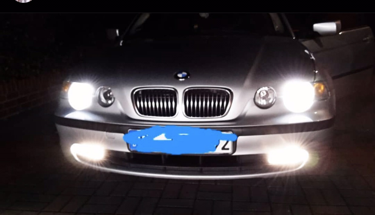 BMW E46  316 ti Compact Silber - 3er BMW - E46