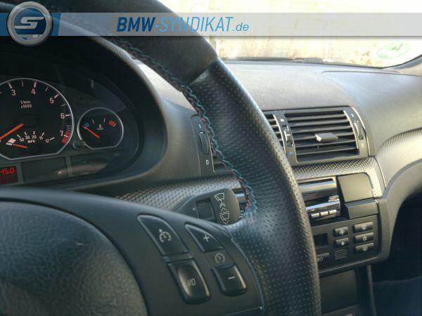330Ci Performance///Einzelstück in Germany/// - 3er BMW - E46 - lenkrad.naht2.jpg