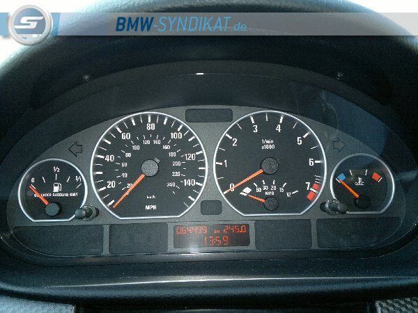 330Ci Performance///Einzelstück in Germany/// - 3er BMW - E46 - Tacho_600x450.jpg