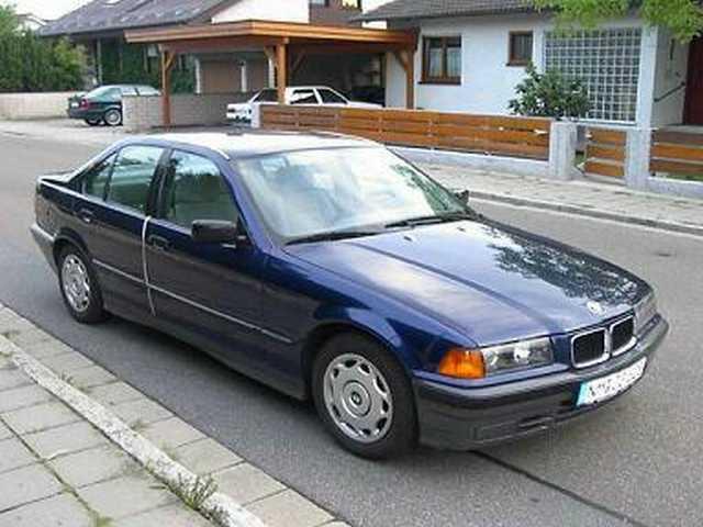 e36 318iA Limo - 3er BMW - E36 -