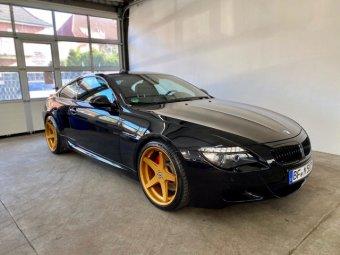 Schmidt XS 5 Felge in 9x20 ET 15 mit Michelin Pilot Sport 4s Reifen in 255/35/20 montiert vorn mit 12 mm Spurplatten Hier auf einem 6er BMW E63 M6 (Coupe) Details zum Fahrzeug / Besitzer