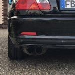 Novus 2-Rohr Endschalldämpfer Sportabgasanlage
