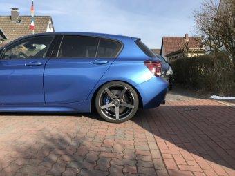 Z-Performance 6.1 Felge in 9x19 ET 45 mit Hankook  Reifen in 255/30/19 montiert hinten Hier auf einem 1er BMW F20 M135i (5-türer) Details zum Fahrzeug / Besitzer